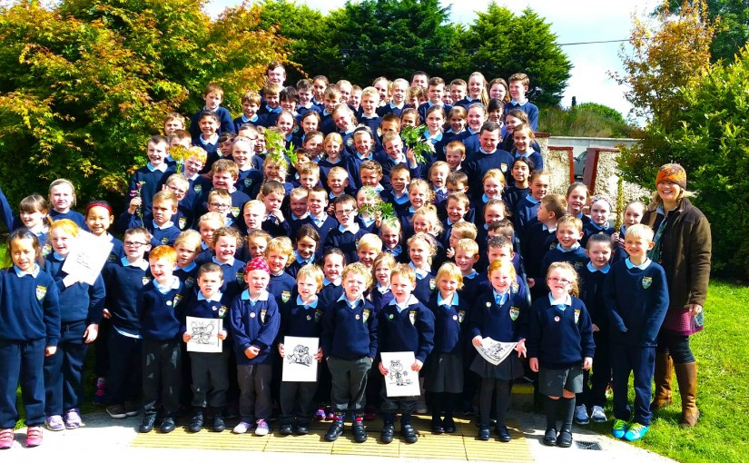 Tinahely National School – Heritage in schools visit – 4th September 2015